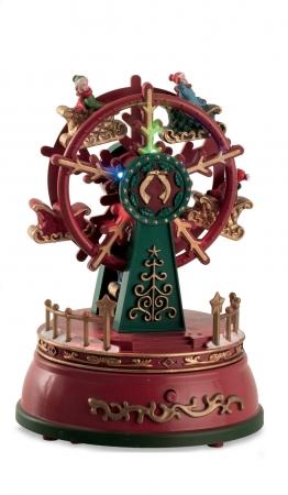 GIOSTRA RUOTA PANORAMICA H.18 cm Natale
