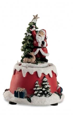 CARILLON BABBO NATALE H.17 cm Natale
