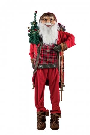 BABBO NATALE H.180CM Natale