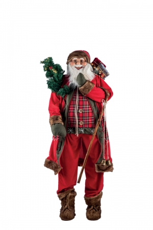 BABBO NATALE H.150CM Natale