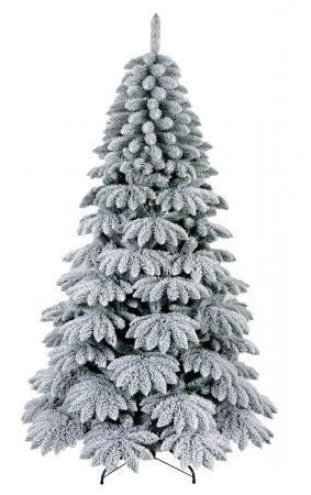 ALBERO DI NATALE INNEVATO H. 180 CM Natale