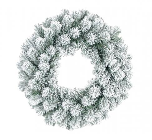 GHIRLANDA INNEVATA  Ø 50 CM Natale